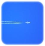 飛ぶ飛行機